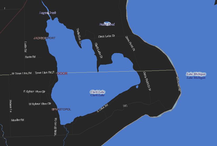 Clark Lake Michigan Map.Clark Lake Properties For Sale